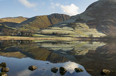 Brothers Water Winter Reflections. (johnandco) Tags: lake water brothers beautiful hartsop kirkstonepass reflections mountains cumbria glenridding wonter