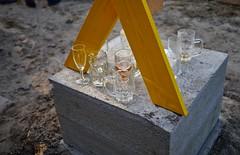 - richtfest - (-wendenlook-) Tags: color colors gläser glasses beton concrete