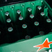 Heineken beer bottles in plastic box
