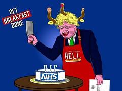 Get Breakfast Done (Mr. Fring) Tags: borisjohnson nhs donaldtrump jeremycorbyn conservativeparty toryparty tory uk unitedkingdom brexit nigelfarage