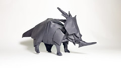 Styracosaurus - designed by Satoshi Kamiya (Nguyễn Tuấn Tài) Tags: