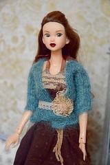 Portrait of Charli (Girl Least Likely To) Tags: momoko sekiguchi asianfashiondolls dress sweater knitwear dolls auburn livingroom diorama dollhouse dollscene dollroom miniatures smallworlds toys