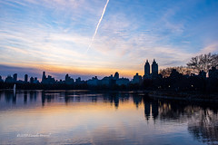 The Last Light of November (CVerwaal) Tags: centralpark eldorado reservoir fujifilmx100t dusk
