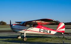 G-BHLW Cessna 120, Scone (wwshack) Tags: egpt psl perth perthkinross perthairport perthshire scone sconeairport scotland cessna120 gbhlw