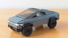 Lego Tesla Cybertruck (hachiroku24) Tags: lego tesla cybertruck car vehicle moc