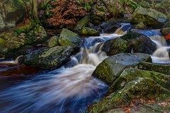 Burbage Brook (gavsidey) Tags: burbage brook padley gorge derbyshire water ngc d500 stream slow rocks trees autumn