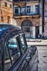 Old Havana (ValterB) Tags: valterb havana cuba urban urbanphotography cars car nikond90 nikkor nikon street streetphotography building buildings house holiday reflection reflected