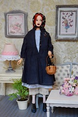 Visiting Viktoria (Girl Least Likely To) Tags: momoko petworks 2011ifdctodaysmomokoredver asianfashiondolls dolls diorama dollhouse dollscene dollroom miniatures toys smallworlds