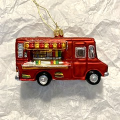 Food Truck (eamathe) Tags: christmas ornament foodtruck meatmas meat