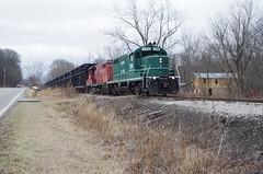 y&s 2 024 (Fan-T) Tags: ys2 youngstown southern southeasten shortline gp16 1706 rogers ohio mill ibcx