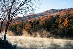 Even If This is the End (Studio281Photos) Tags: nature landscape sunrise lake river trees fog mist steam autumn autumncolors autumntrees fallfoliage fallcolors sky vacation travel ozarks missouri november nikon nikond810 tamron2470mm