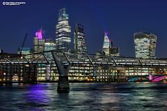 CityMillennium001 (Nigel Blake, 18.5 MILLION views! Many thanks!) Tags: london walkietalkie herontower gherkin scalpel skyscraper highrise towerblock office nigelblakephotography nigelblake city cityscape urbanlandscape
