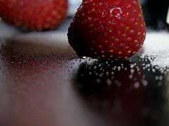 Food Challenge 4 (Corgibird) Tags: foodpornbonbonschocolatescocoaboxofchocolatessweets patries pastries sugar sweets holidays yum flour foodporn strawberries
