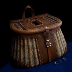 0578 (Thomas Alan Nakashima) Tags: creel fly fishing wicker antique zuiko 17mm f18 tom nakashima