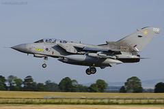 Royal Air Force, Tornado GR4A, ZA395 / 009. (M. Leith Photography) Tags: raf lossiemouth moray scotland royal air force jet panavia tornado gr4 sunshine side aviation photography mark leith nikon lossie grass cockpit sky aircraft