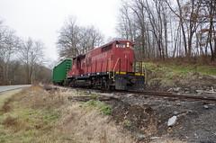 y&s 012 (Fan-T) Tags: ys youngstwon southern southeastrn railroad ibcx gp18 222 plw icg 9368