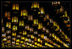 10ème jour / 10th day - Les lanternes du temple / The lanterns of th temple - Daisho-in - Miyajima (christian_lemale) Tags: daishoin temple miyajima japon japan nikon d7100 lanternes lanterns 宮島 日本