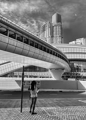 Futurama (Andrew G Robertson) Tags: hong kong west station street high key architecture modern future kowloon china