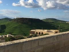 083_Rabat (SmoKingTiger1551) Tags: malta gozo rabat citadel stonewall hill clouds isle mediterranean