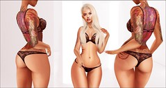 Hoodlem - Jhene Aiko (Chilombo) (๖̶̶̶ۣۣۜۜ͜ζ͜͡ Ỵคیʍīήค♥) Tags: hoodlem doux moccinobeaute legacy feminine beautiful tattoo kinkyevent