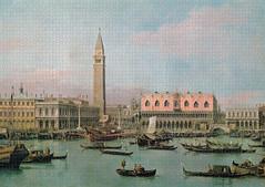 Canaletto (Giovanni Antonio Canal): Piazzetta e Bacino di San Marco, Venice (_Furetto_) Tags: canaletto venezia venice sanmarco saintmark giovanniantoniocanal 4000 puzzle piatnik painting hugin altepinakothek