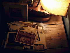 Tabletop (sixthland) Tags: blipfoto frame lamp 550d boat photographs flare