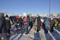 Hundreds protest public service cuts at UCP meeting in Calgary (scott.richey) Tags: education cupe abpoli protest alberta calgary afl