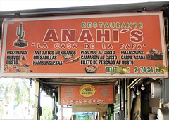Anahi's (knightbefore_99) Tags: mexico mexican nayarit west coast awesome rincon guayabitos cool tropical sol sunny sun best restaurant sign anahis food desayuno huevos