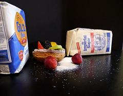 Food Challenge 5 (Corgibird) Tags: foodpornbonbonschocolatescocoaboxofchocolatessweets patries pastries sugar sweets holidays yum flour foodporn strawberries