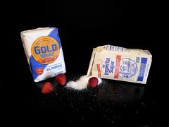 Food Challenge 3 (Corgibird) Tags: foodpornbonbonschocolatescocoaboxofchocolatessweets patries pastries sugar sweets holidays yum flour foodporn strawberries