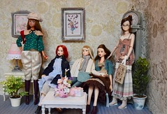 Momoko Family (Girl Least Likely To) Tags: momoko ccs petworks closeclippedsheep sekiguchi asianfashiondolls dolls diorama dollhouse dollscene dollroom livingroom miniatures toys ooak
