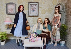Momoko Girls (Girl Least Likely To) Tags: momoko ccs petworks closeclippedsheep sekiguchi asianfashiondolls dolls diorama dollhouse dollscene dollroom livingroom miniatures toys ooak