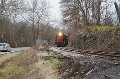 y&s 008 (Fan-T) Tags: ys youngstwon southern southeastrn railroad ibcx gp18 222 plw icg 9368