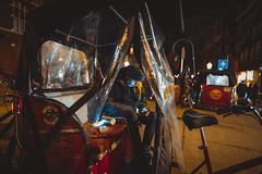 Bike Taxi Amsterdam (Sjaco Manuputty) Tags: bike bicycle biketaxi taxi transportation people street streetphotography night nightphotography streetshot streetlife city amsterdam netherlands tourist