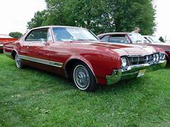 1966 Oldsmobile Starfire (splattergraphics) Tags: 1966 oldsmobile starfire 88 olds olds88 carshow dasawkschtfescht macungiememorialpark macungiepa