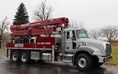 Baystate Concrete Pumping Truck (raserf) Tags: baystate concrete cement truck trucks pump pumper pumping mack putzmeister sturtevant wisconsin racine county montgomery massachusetts