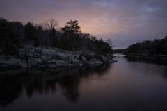 Dusky C&O Canal (Mike J Maguire) Tags: cocanal washingtondc dusk potomacriver autumn sunset water peaceful serene hiking