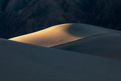 Light in the Shadows (Kirk Lougheed) Tags: california deathvalley deathvalleynationalpark mesquitedunes mesquiteflat tucki tuckimountain usa unitedstates dune landscape nationalpark outdoor park sand sanddune