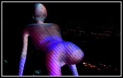 Altered Art Lounge (Suzen JueL - Resistance) Tags: secondlife virtualart suzenjuelresistance art dots stripes