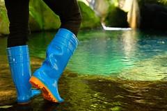 Sky Blue Wellies (Elmer_Wellies) Tags: wellies rainboots rubberboots