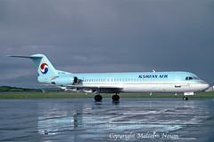 FOKKER 100 HL7206 KOREAN AIR (shanairpic) Tags: jetairliner passengerjet fk100 fokker100 shannon koreanair hl7206