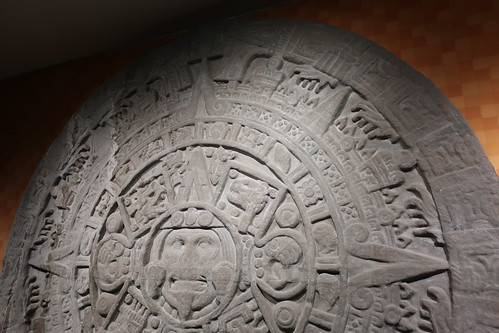 NYC - AMNH: Hall of Mexico and Central America - Aztec Stone of the Sun