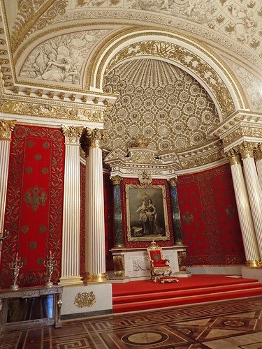 The Hermitage: Small Throne Room