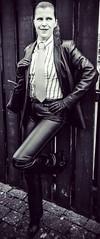 Pandora (bof352000) Tags: woman tie necktie suit shirt fashion businesswoman elegance class strict femme cravate costume chemise mode affaire