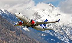 Airport Innsbruck (INN/LOWI) 26.03.2016 (axeljanssen) Tags: sas inn lowi flugzeuge boeing b737 serey