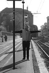 IMG_1052_ (Stefano Palma) Tags: viagiolitti ferrovia blackandwhite biancoenereo monochrome yawn roma rome street rail streetphotography