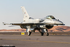 3080 - Lockheed Martin F-16E Desert Falcon - UAEAF (KarlADrage) Tags: 3080 lockheedmartinf16e desertfalcon uaeaf uaeafad omal alain alainaerobaticshow captkhaledaljabri