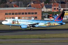 Brussels Airlines  Airbus A320-214 OO-SNE (widebodies) Tags: brussels brüssel bru ebbr widebody widebodies plane aircraft flughafen airport flugzeug flugzeugbilder airlines airbus a320214 oosne