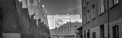 roof line (rafasmm) Tags: łódź lodz poland polska europe blackwhite monochrome bw black white urban backyard street streetphotography streetart city citycenter roof lines architecture light shadows walk outdoor nikon d90 sigma 1020 ex