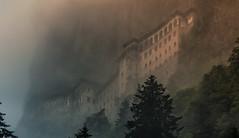 Sümela Manastırı (Wim van de Meerendonk, loving nature) Tags: sümelamanastırı monastery turkey trabzon mountain tree trees clouds cloud light mountainscape outdoors outdoor panorama wimvandem